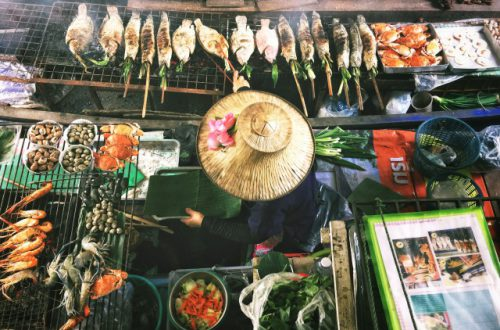 comida en el sudeste asiático