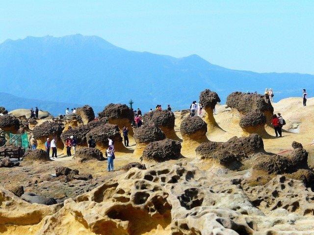 Yehliu Geopark Taipei