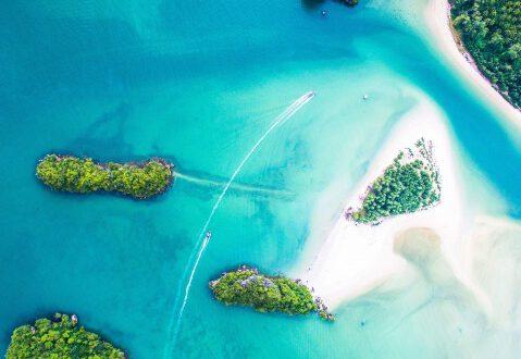 islas en mar