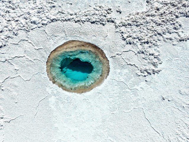 agujero de agua