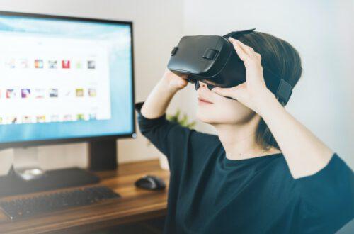 experiencia de viaje virtual