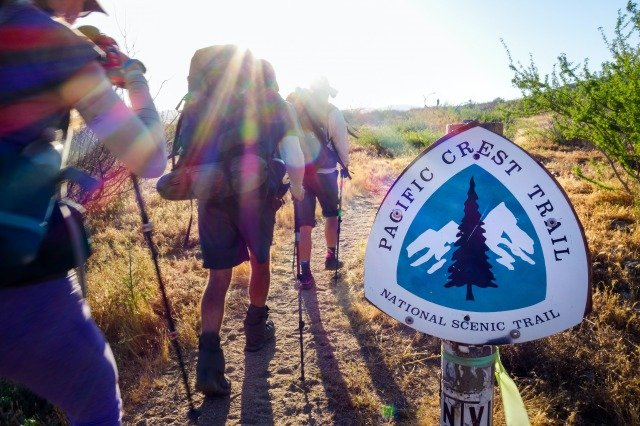 One of the best backpacking trails in the US: Pacific Crest Trail